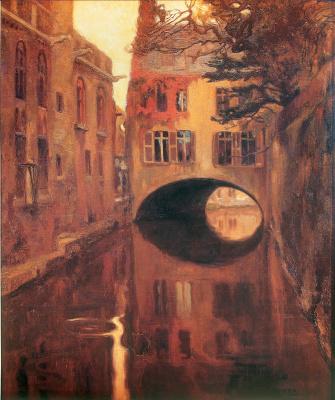 Диего Мария Ривера. Дом на мосту