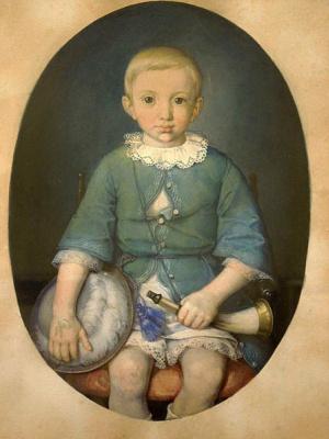 Ян Матейко. Портрет Антонио Серафиньского