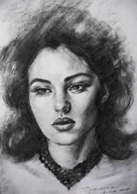 Olga Glazacheva. Monica Bellucci