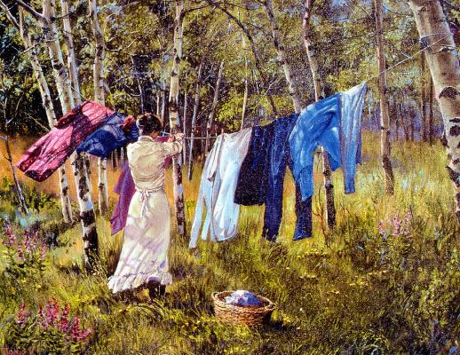Линн Томас. Чистая одежда
