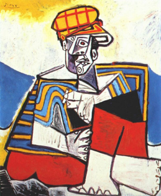 Пабло Пикассо. Курильщик