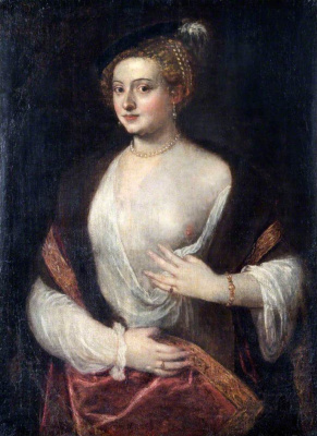 Titian Vecelli. Portrait of an Unknown (Beloved)
