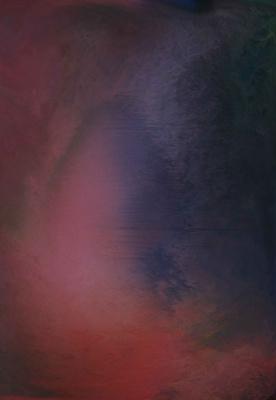 "Alla Struchayeva. Painting ""Eye of the Universe"""