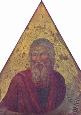 Нерьо  ди Уголино. Пророк Исаия