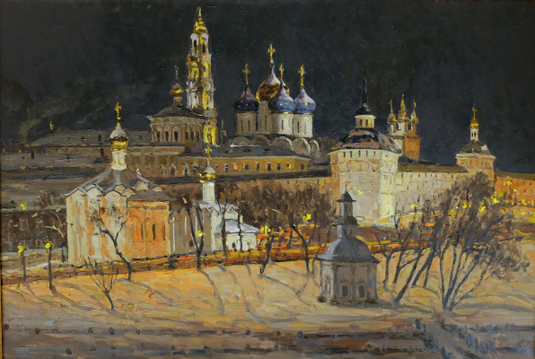 Василий Васильевич Куракса. Christmas Night Laurel