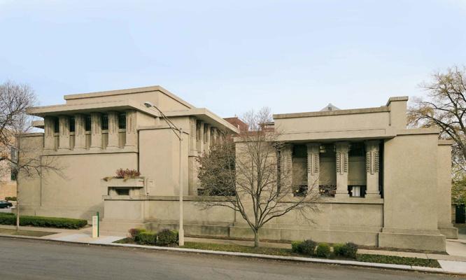 Frank Lloyd Wright. Temple of Unity