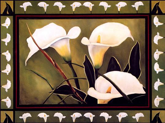 Кевин Смит. Белые лилии