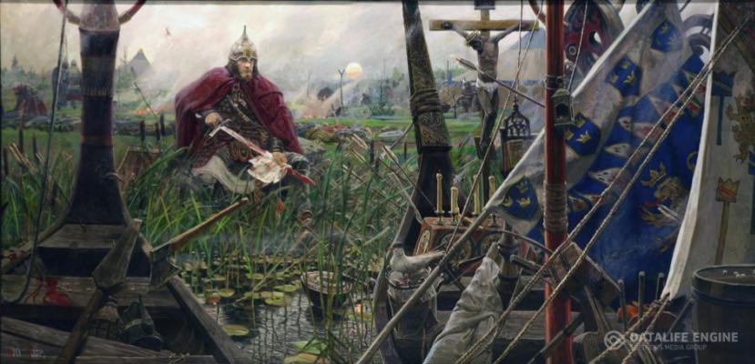 Pavel Viktorovich Ryzhenko. The battle of the Neva