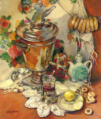 """At the samovar"""