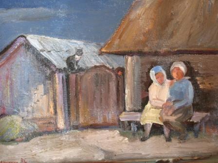 Liliana Nikolaevna Rastorgueva. Ukraine, village Loose
