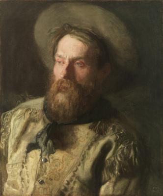 Thomas Eakins. Portrait of a cowboy