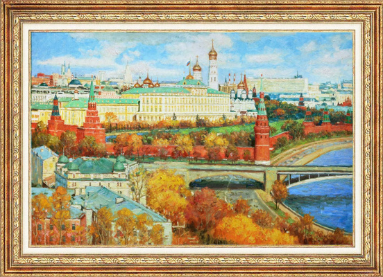 Igor Razzhivin. My Golden Moscow