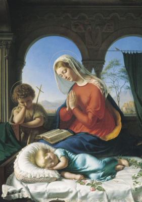 Evgraf (Gerard) Romanovich Reitern. Virgin Mary with Christ and John.