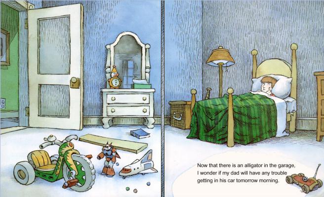 Иллюстрация к книге Там крокодил под моей кроватью 22