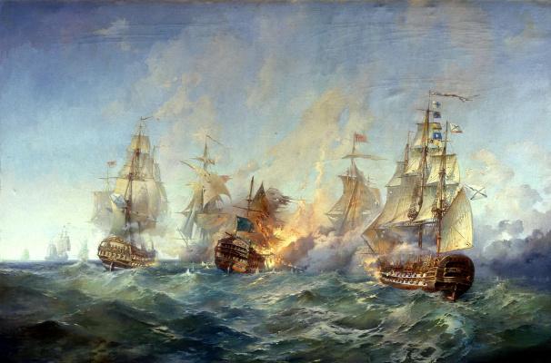 Сражение у острова Тендра 28-29 августа 1790 года