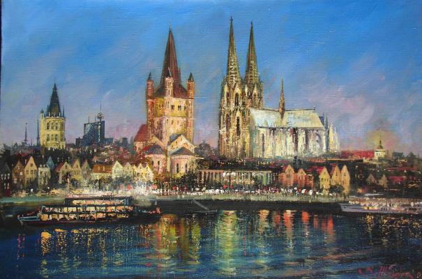 Виталий Викторович Жердев. Night Cologne