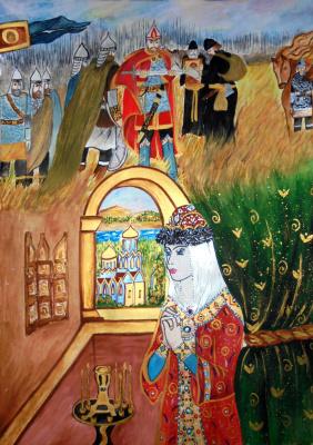 Julia Sergeevna Bochkareva. Prayer