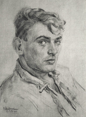 Vadim Odainik (1925-1984) Self-Portrait 1946