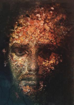 Andrew (Android) Jones. Self-portrait