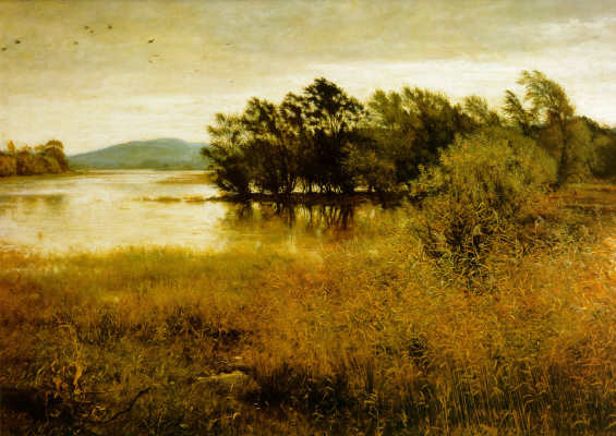 John Everett Millais. Cold October