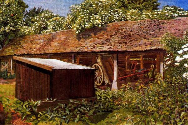 Stanley Spencer. Yard