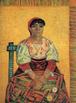 Vincent van Gogh. Italian Woman (Agostina Segatori)