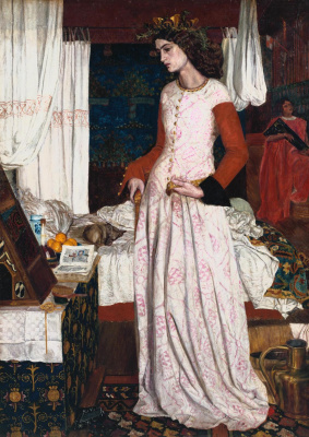 William Morris. Beautiful Isolde (Portrait of the Artist's Wife Jane Morris)
