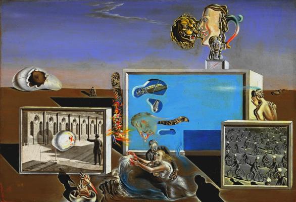 Salvador Dali. Enlightened pleasures