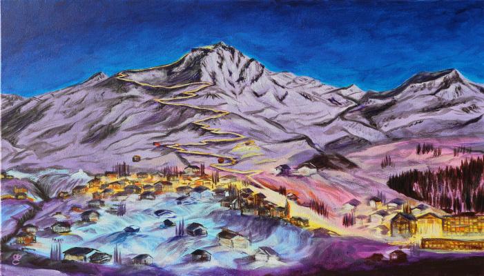 Dmitry Eremenko. Alpine village