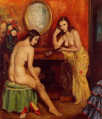 George Owen Wynne Upperley. Nude