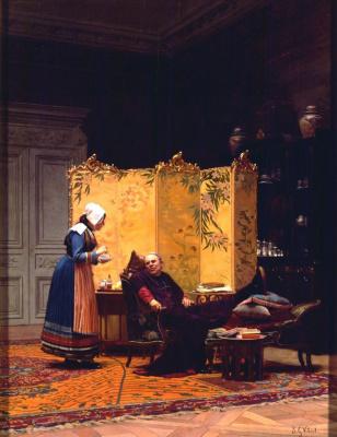 Жан Жорж Вибер. Чай для епископа