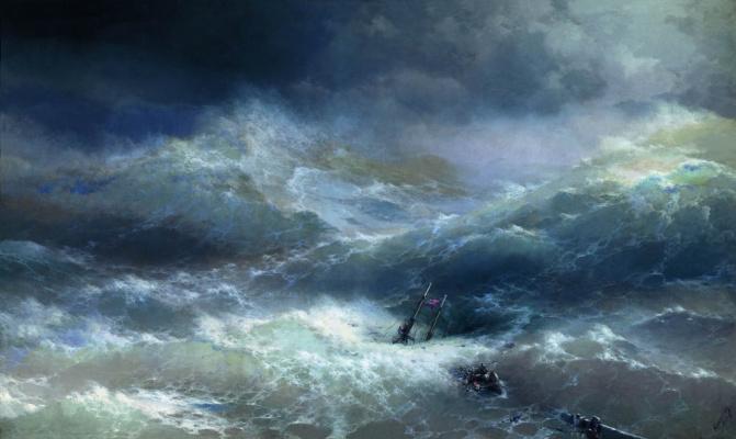 Ivan Aivazovsky. Wave