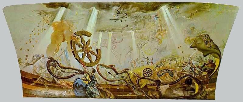 Salvador Dali. The wind Palace