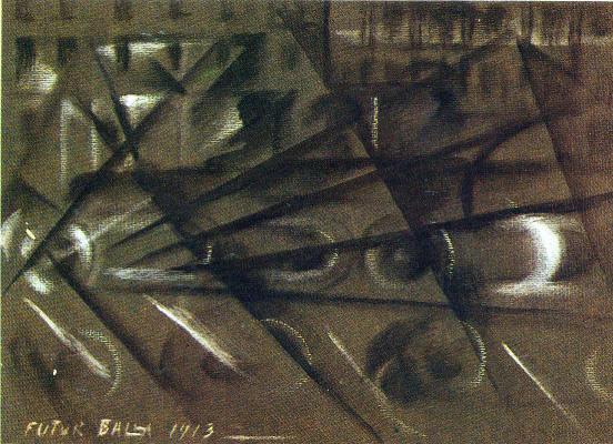 Giacomo Balla. Plot 16