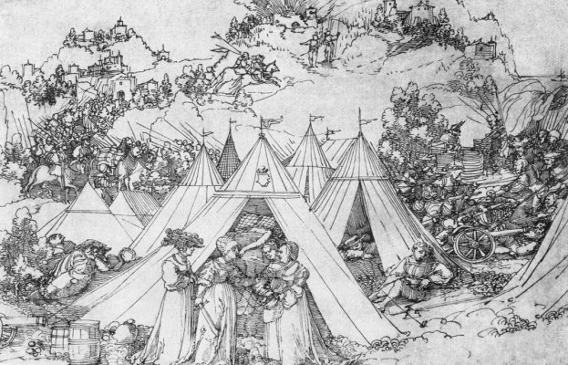 Hans Scheufelain. The Death Of Holofernes