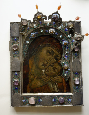 Igor Yurevich Drozhdin. Salary to the icon of the mother of God of Korsun