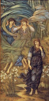 Edward Coley Burne-Jones. Leban's Bride