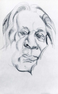 Lucien Freud. Artist's father