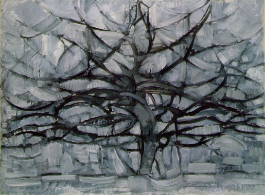 Piet Mondrian. Grey tree