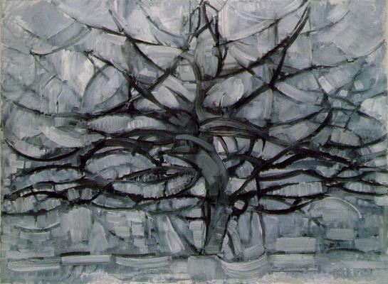 Piet Mondrian. Grey tree