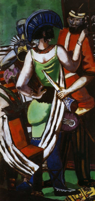 Max Beckmann. Carnival in Paris