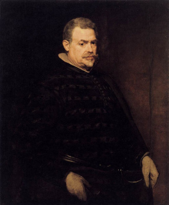 Diego Velazquez. Portrait Of Juan Mateos