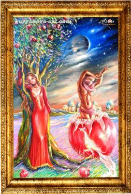 """Anastasia Guryanova. """"Pomegranate nymph-passion"""""""