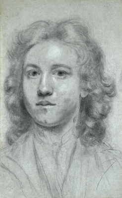 Joshua Reynolds. Self-portrait of the artist at the age of seventeen