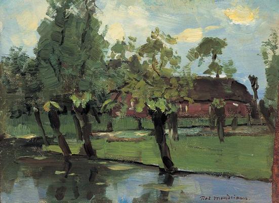 Piet Mondrian. Farm ducts