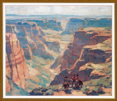 Edgar Payne. Canyon
