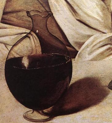 Michelangelo Merisi de Caravaggio. Bacchus. Fragment