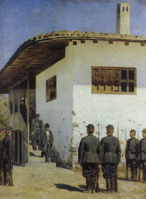 Vasily Vasilyevich Vereshchagin. Spy