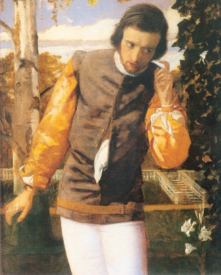 "Arthur Hughes. Benedict overhears at the gazebo. ""Much ado about nothing"""