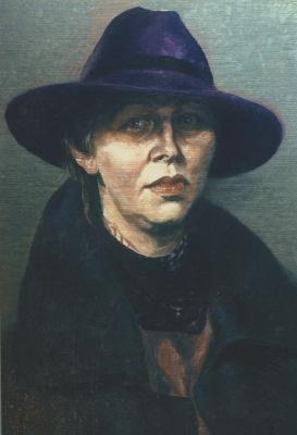 David Shikovich Brodsky. Unfinished portrait